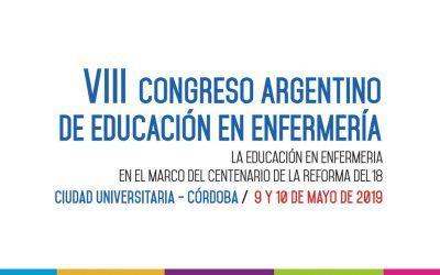 VIII Congreso Argentino de Educación en Enfermería