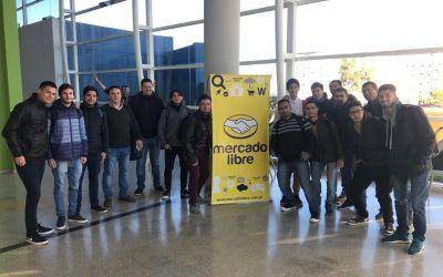Estudiantes de la UNViMe visitaron Mercado Libre