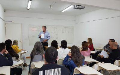 El rector se reunió con docentes afiliados a SINDUPSL  para hablar sobre el nuevo Estatuto UNVIME