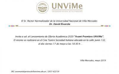 Avant Premiere UNViMe